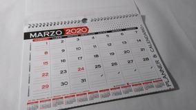 Marzo 2020 Calendario Argentina.Planificador Imaginer Mensual A4 Planner Calendario 2020