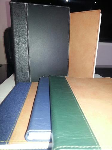 planificador, tipo agenda ejecutiva, 24x17cm, semicuero