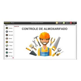 Planilha Controle Almoxarifado & Ordem De Serviço 11.0 Plus+