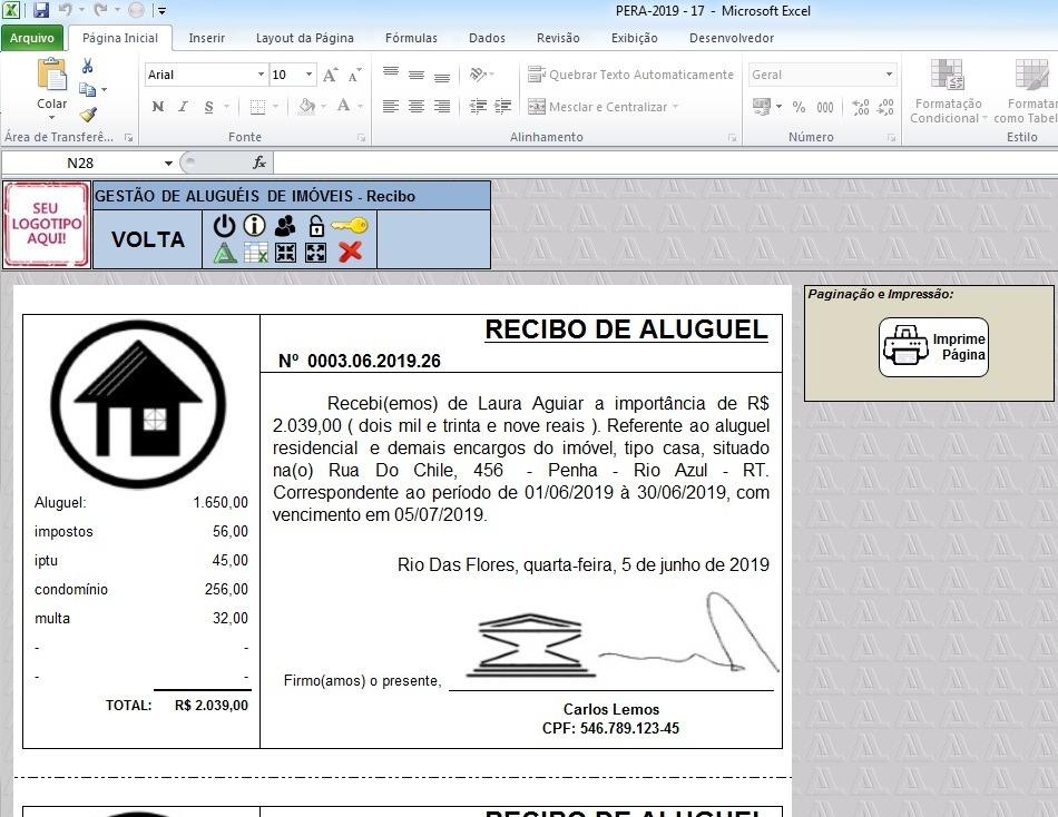 GRATIS RECIBOS BAIXAR ALUGUEL DE