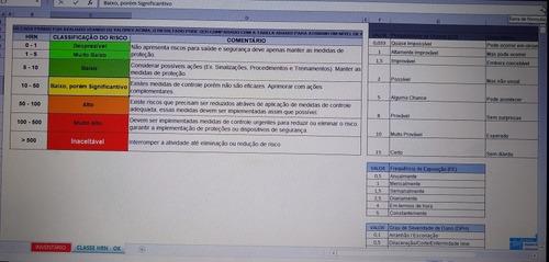 planilha de gestão nr-12
