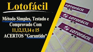 planilha lotofácil metodo simples 11 12 13 14 e 15 acertos!