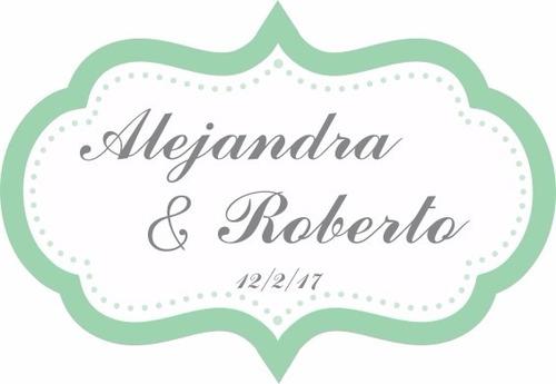 planilla 16 etiquetas personalizadas vintage 1