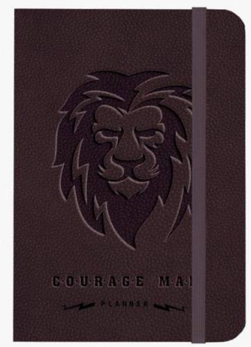 planner masculino courage man - leão
