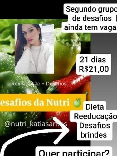 plano alimentar + reeducação alimentar + grupo desafio whats