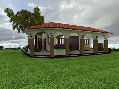 plano arquitectónico y modelado 3d de casa habitación