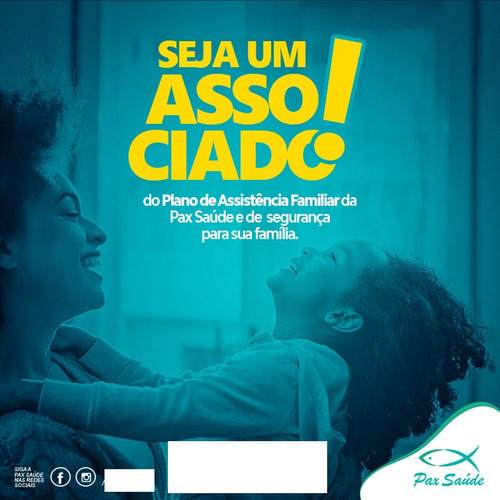 plano assistencial familiar - 1 titular + 3 deped. pax saúde