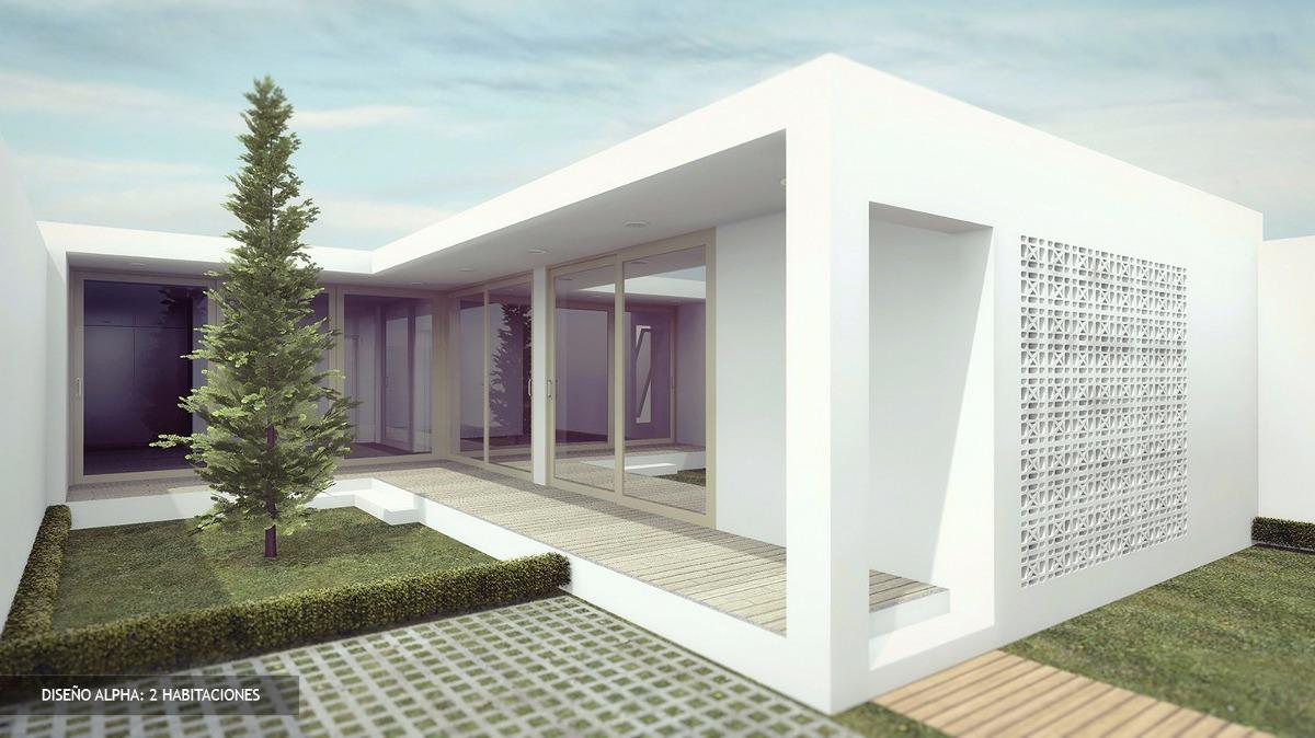 Plano casa minimalista facil construccion y economica for Casas con planos y fotos