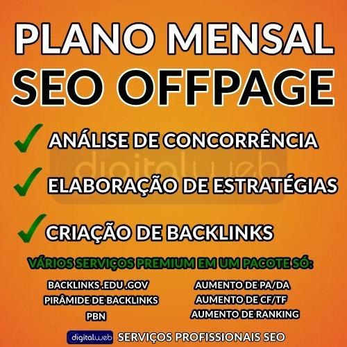 plano mensal seo off page gold - backlinks pbn edu/gov