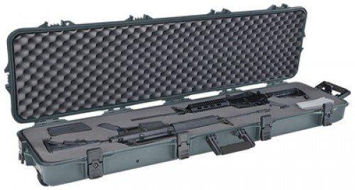 plano todo el tiempo double rifle scoped / escopeta caso...