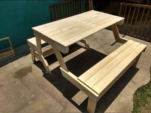 plano y guia de fabricacion para mesa transforma a banca