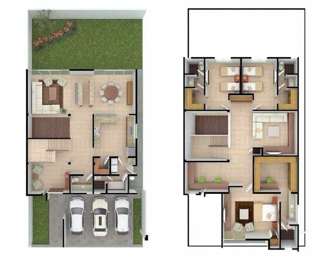 Planos arquitectonicos 6 en mercado libre for Plantas arquitectonicas de casas