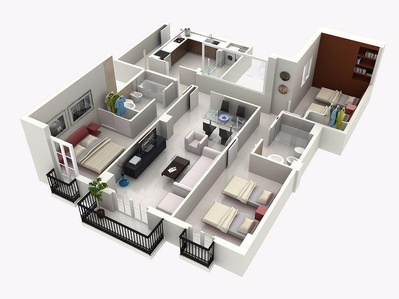 Planos arquitectonicos 6 en mercado libre for Planos de casas rusticas gratis
