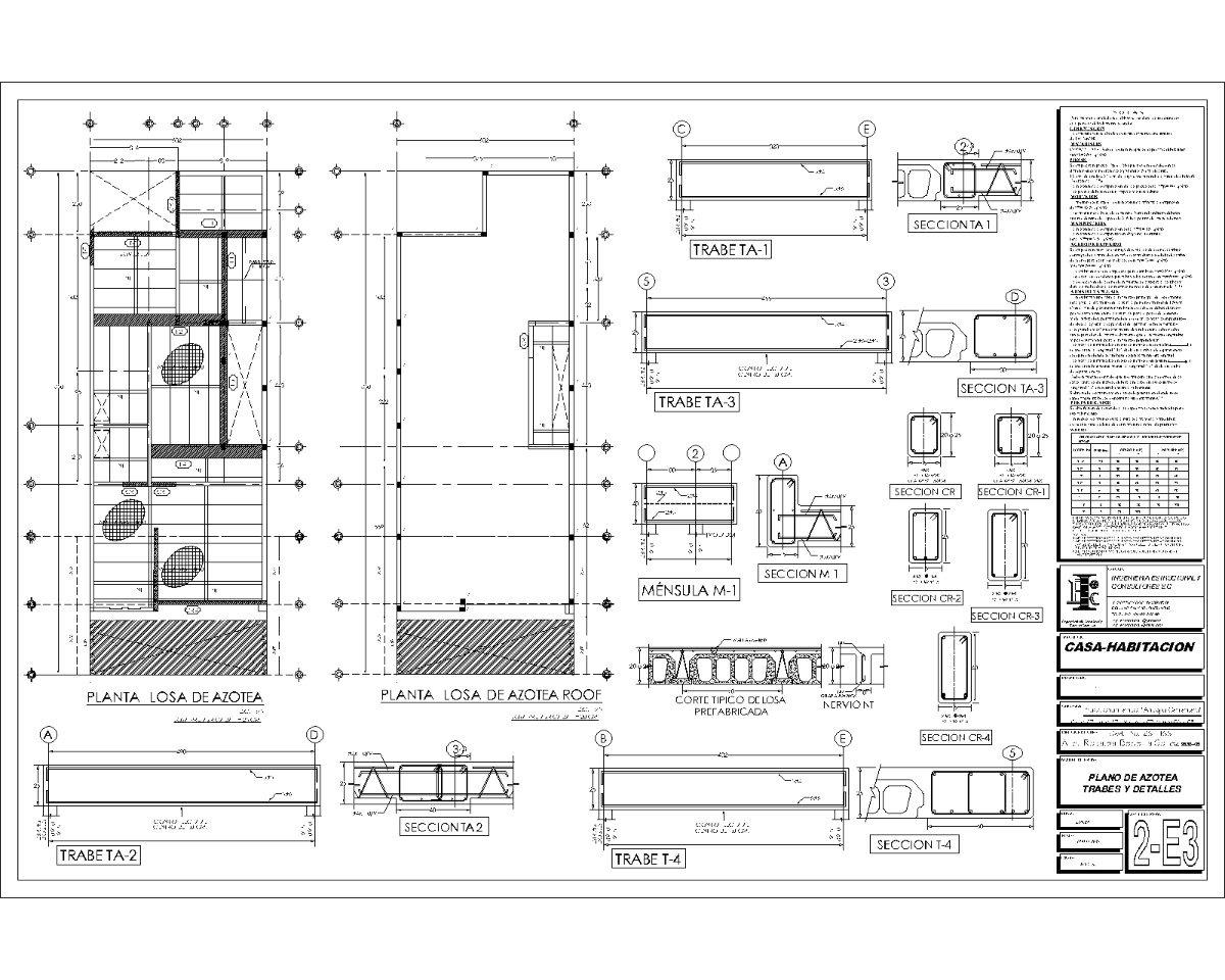 Planos arquitectonicos dise o proyecto completo for Planos arquitectonicos de casa habitacion