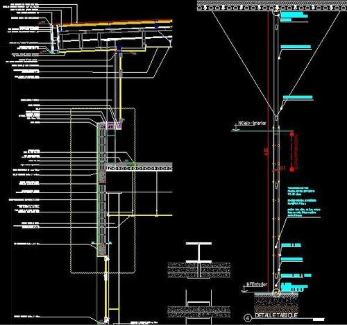 planos autocad.  arquitecto