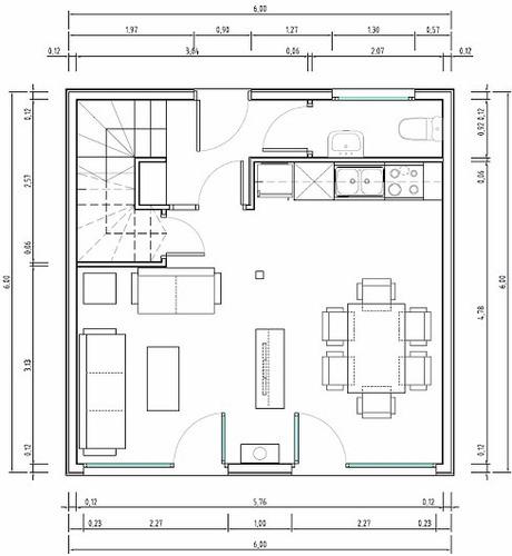 planos autocad casas, locales, oficina,