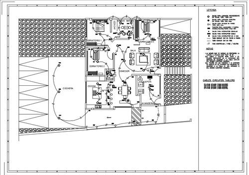 planos autocad / revit / 3d / eléctricos / iluminación