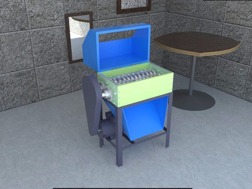 Planos construcc maquina trituradora molino plastico - Trituradora de ramas casera ...