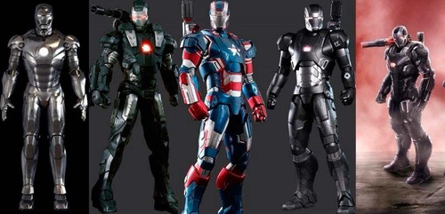 planos de armadura iron patriot marvel iron man 3 vengadores