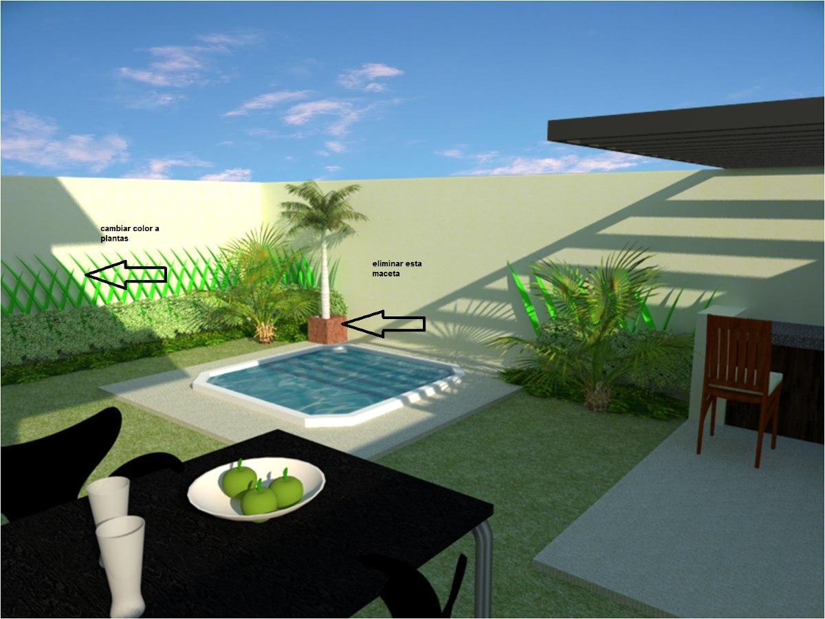 Planos de casa 3 rec para terreno 10x20 metros formato for Diseno de jardines pdf