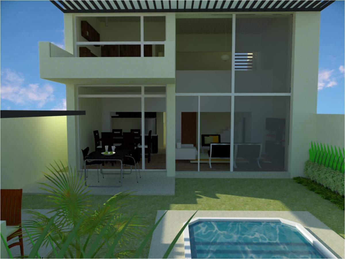 Planos de casa 3 rec para terreno 10x20 metros formato - Terreno con casa ...