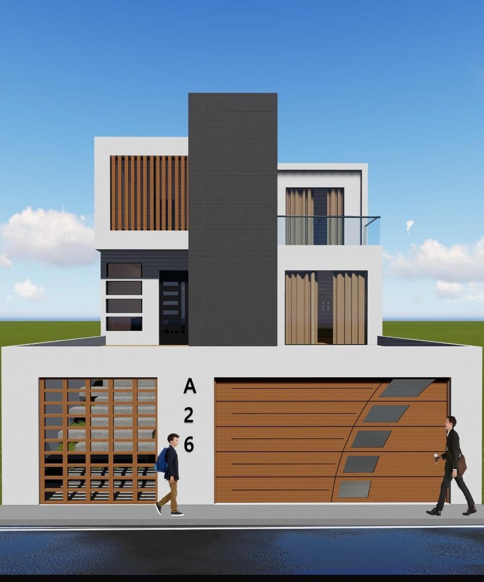 planos de casa moderna 2020