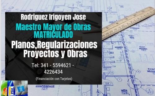 planos de casas 3d 2d, regularizaciónes municipal
