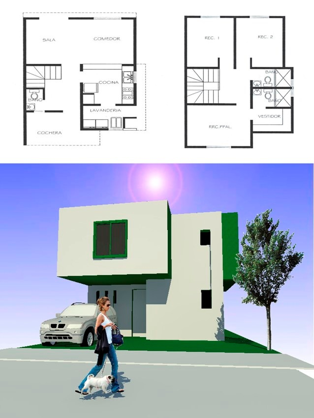 Planos De Casas Infonavit Listos Para Construir 1 250