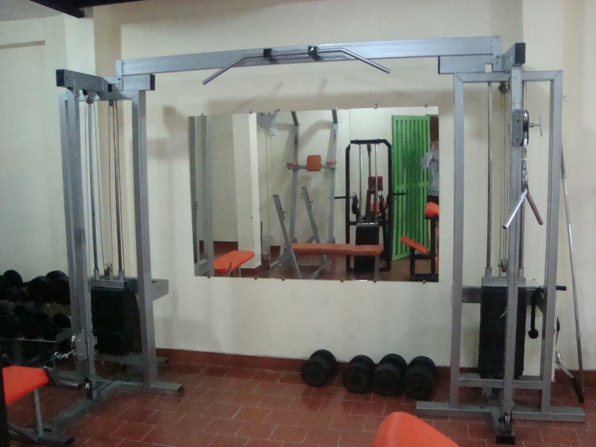 Planos de dibujos de maquinas poleas cruzadas para - Maquinas para gimnasio en casa ...