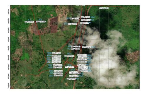 planos de  geologia y campo   conseciones mineras