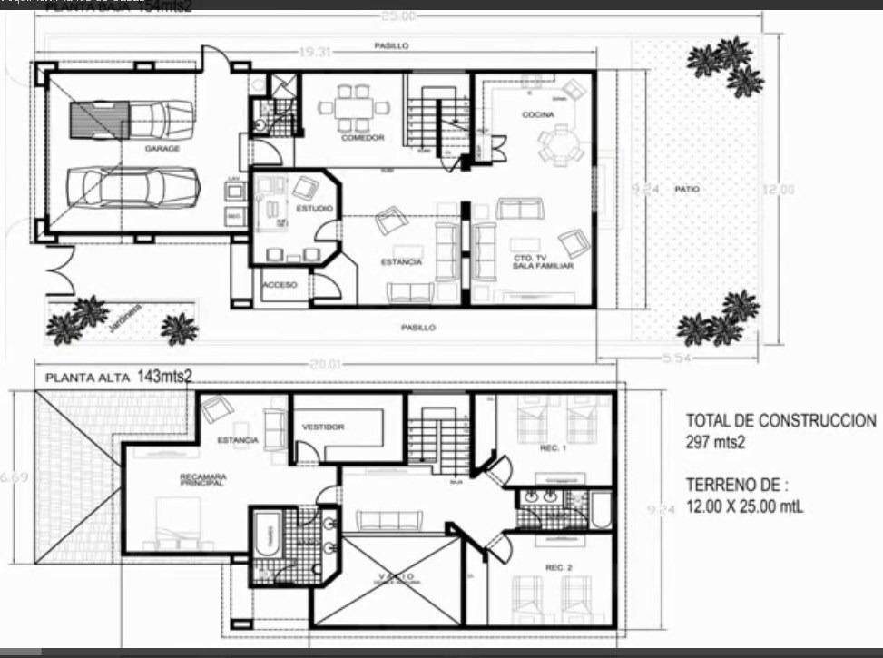 Planos de mi casa en auto cad en mercado libre for Como hacer mi casa en 3d