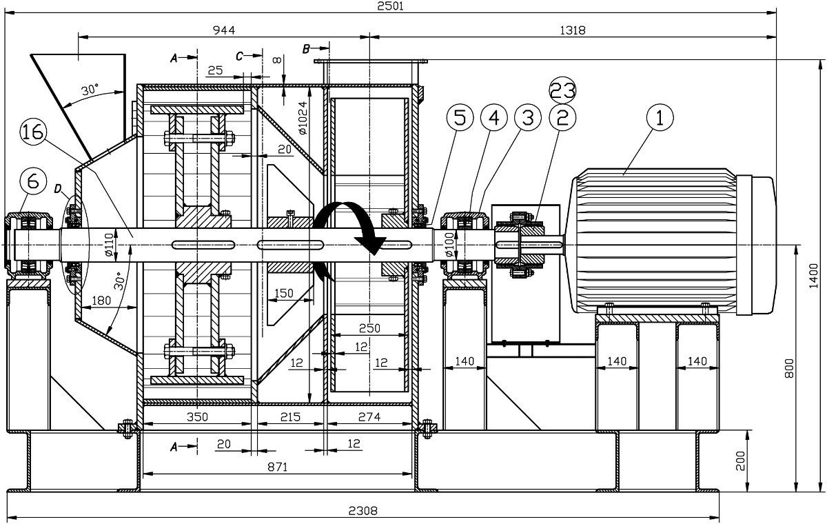 planos de molino pulverizador para hacer arepas
