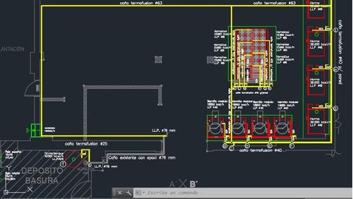 planos de obra (construcción- electricidad- gas). en cuotas.