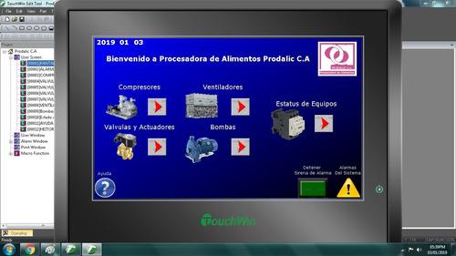 planos electricos,programacion de plc y hmi (automatizacion)