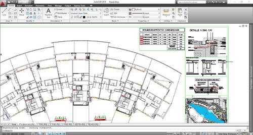 planos en autocad, dibujante, elaboracion digitalizacion