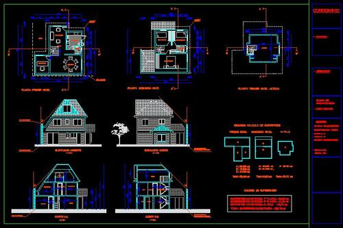 planos en autocad y autocad civil 3d