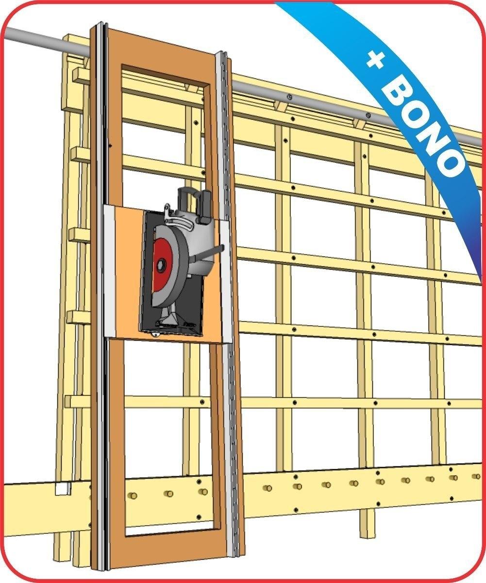 Planos manual para construir sierra vertical carpinter a for Planos carpinteria