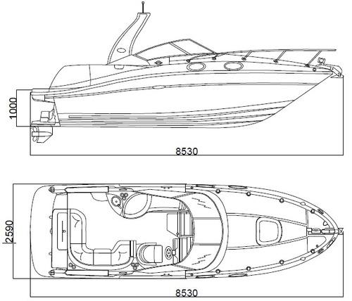 planos, modelados 3d y cálculos para embarcaciones