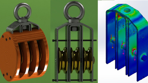 planos, modelos 3d, elementos finitos, solidworks