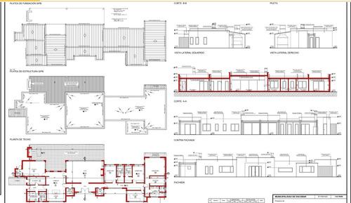 planos municipales - construcción - proyectos en cad