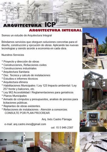 planos municipales, construcciones, doc tecnica