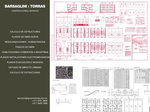 planos municipales - construcciones - proyectos - procrear