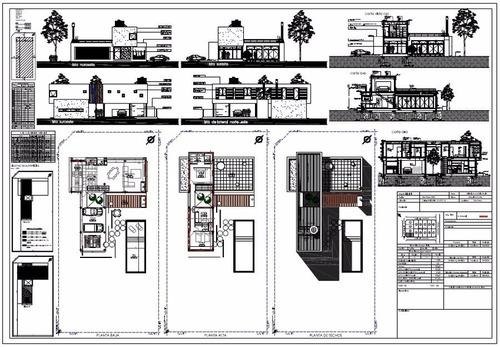planos municipales - croquis habilitación - antisiniestrales