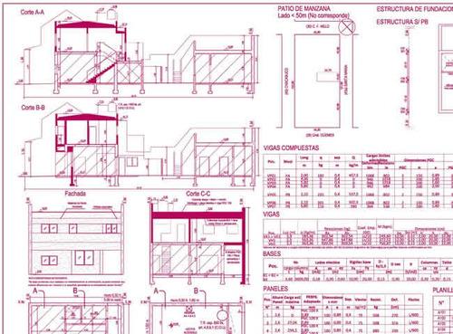 planos municipales - firma y gestión