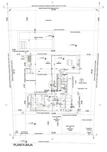 planos municipales , proyecto, direccion y construccion de