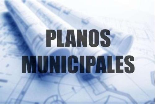 planos municipales y construcción