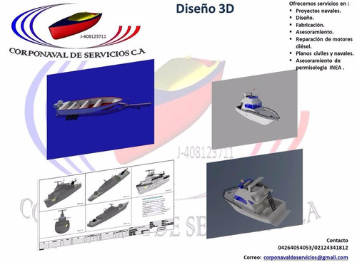 planos navales y civiles reparación de motores detroit