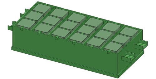 planos para fabricar maquina de hacer bloques y mezcladora