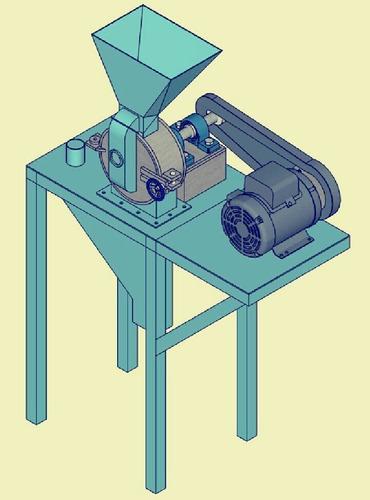 planos para fabricar maquina pulveriza harina de maiz+receta