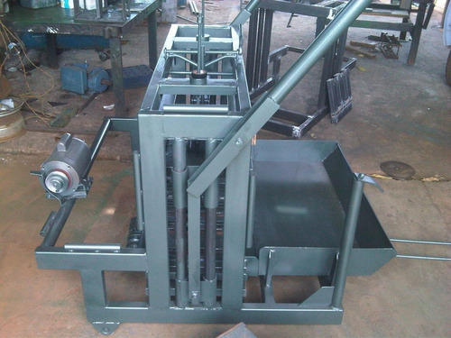 planos para hacer maquinas ponedoras de bloques y mezcladora
